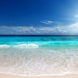 Plaja 14 - Tapet Foto Valuri si Soare