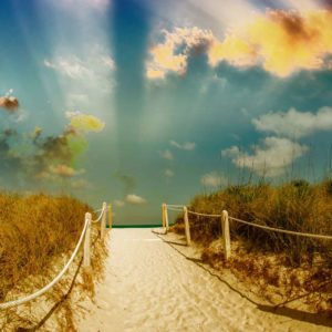 Plaja 17 - Fototapet
