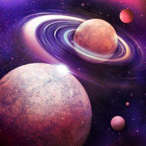 Fototapet Sistemul Solar Planete-01