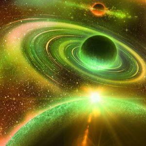 Fototapet Sistem Solar Planete-02