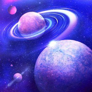 Tapet Foto 3D Sistem Solar Planete-03