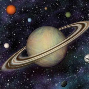 Tapet 3D Sistem Solar