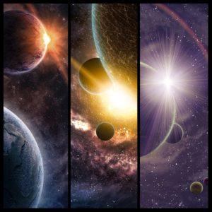 Fototapet Colaj Planete Sistem Solar