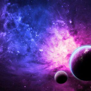 Tapet 3D Planete si Nebuloasa 08