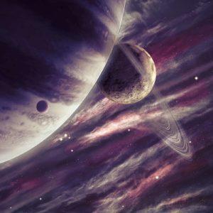 Tapet Foto 3D Sistem Solar