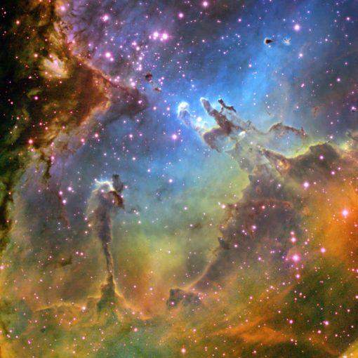 Fototapet Stele si Nebuloase 01