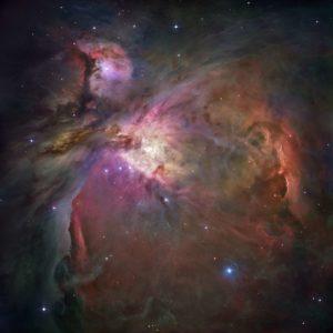 Tapet 3D Stele si Nebuloase 02