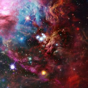 Tapet Foto Stele si Nebuloase 06