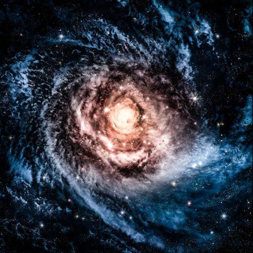 Tapet Foto Galaxie Stele si Nebuloase 09