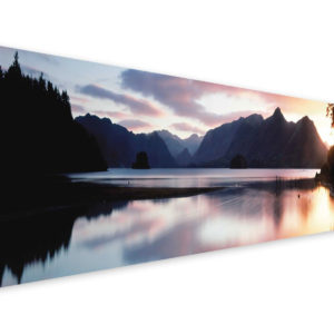 Tablou Canvas Lac Montan 57 x 150 cm GCN25558