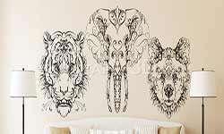 Stickere Deco Animals