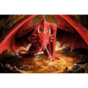 Maxi Poster Anne Stokes Pestera Dragonului