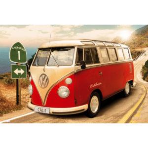 Maxi Poster VW Camper
