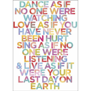 Maxi Poster Citat Motivational 1