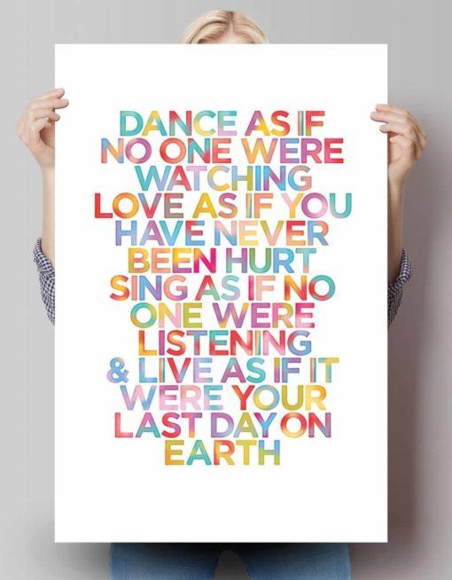 Maxi Poster Citat Motivational 3
