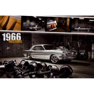 Maxi Poster Ford Mustang 1966