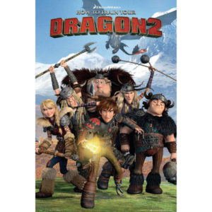 Maxi Poster How to Train Your Dragon 2