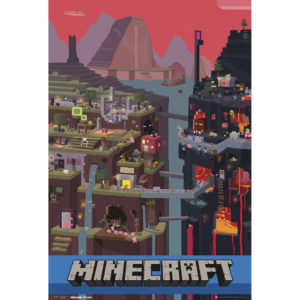 Maxi Poster Minecraft