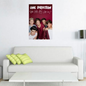Maxi Poster One Direction - autografe A35/95 - 91.5 x 61cm