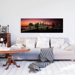 Tablou Podul Brooklyn Bridge Poster - 52 x 156 cm Interior