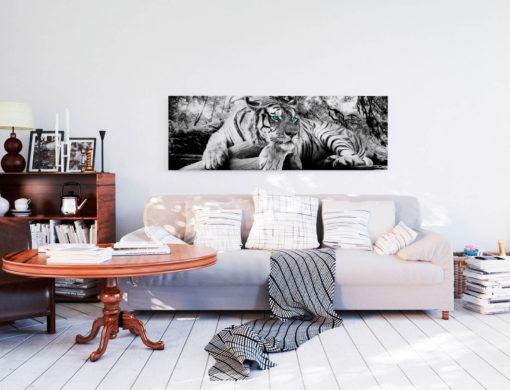 Tablou Tigru Deco Panel 52 x 156 cm Interior