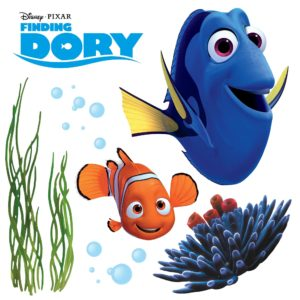 STICKERE FINDING DORY 16409