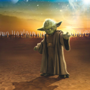 Fototapet Star Wars Master Yoda 4-442