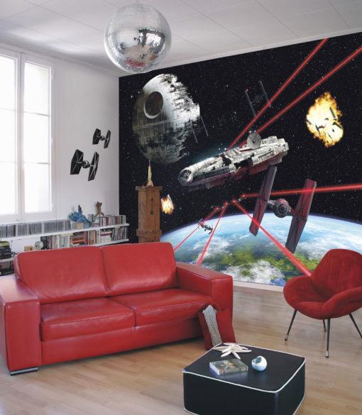 Fototapet Star Wars Milennium Falcon 8-489