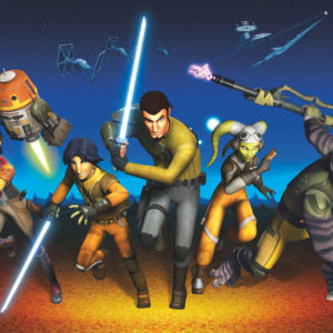 Fototapet Star Wars Rebels Run 8-486