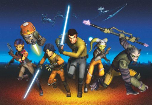 Fototapet Star Wars Rebels Run 8-486