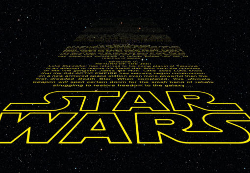 Fototapet Star Wars Intro 8-487