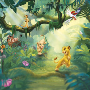 Fototapet Disney Lion King Jungle 8-475