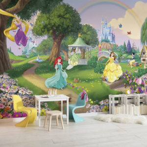FOTOTAPET DISNEY PRINCESS RAINBOW 8-449