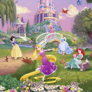 FOTOTAPET DISNEY PRINCESS SUNSET 4-4026