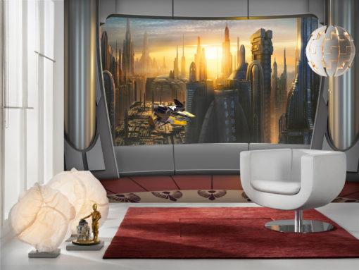 Fototapet Star Wars Coruscant View 8-483
