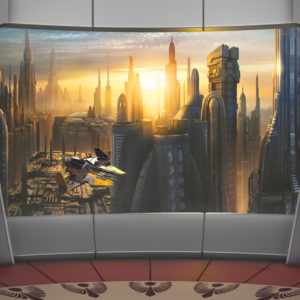 Fototapet Star Wars Coruscant View 8-483