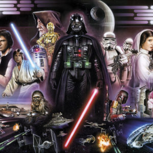 Fototapet Star Wars Darth Vader Collage 8-482