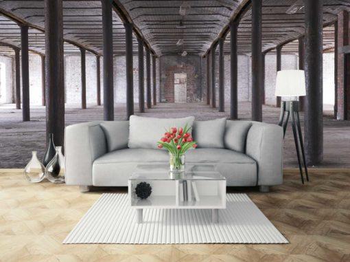 Fototapet Design Industrial - Caramida 3D