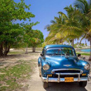 Fototapet Masini Cuba, Chevrolet Bel Air