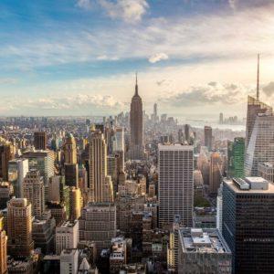 Fototapet New York 30 - Vedere aeriana