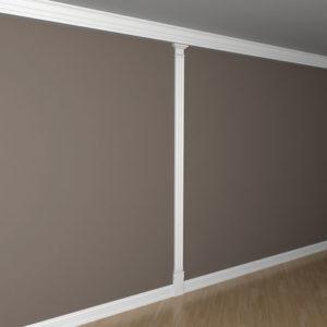 Pilon model 1.20.103, aplicație perete