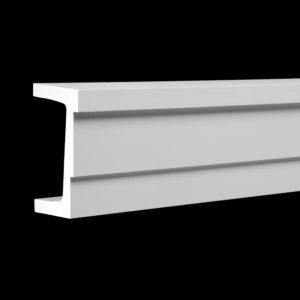 Arhitravă model 1.26.001, profil 3D