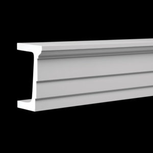 Arhitravă model 1.26.002, profil 3D