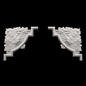 Ornament de colț model 1.52.313, profil 3D
