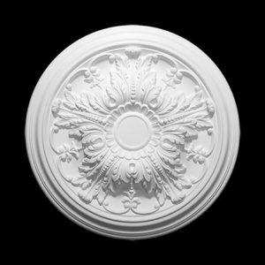 Trandafir de plafon model 1.56.034, profil 3D