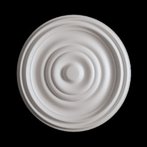 Trandafir de plafon model 1.56.035, profil 3D