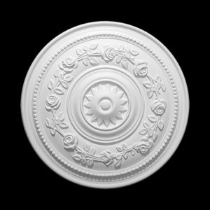 Trandafir de plafon model 1.56.038, profil 3D