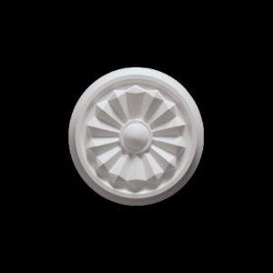 Trandafir de plafon model 1.56.042, profil 3D