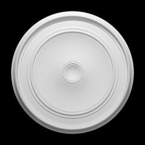 Trandafir de plafon model 1.56.044, profil 3D