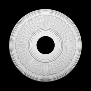 Trandafir de plafon model 1.56.047, profil 3D